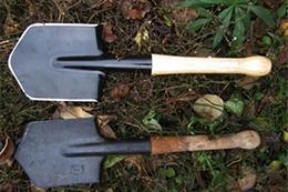 Саперные, пехотные и десантные лопаты
