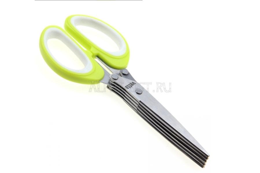 ножницы для зелени 5 лезвий vetta хозяйственные товары