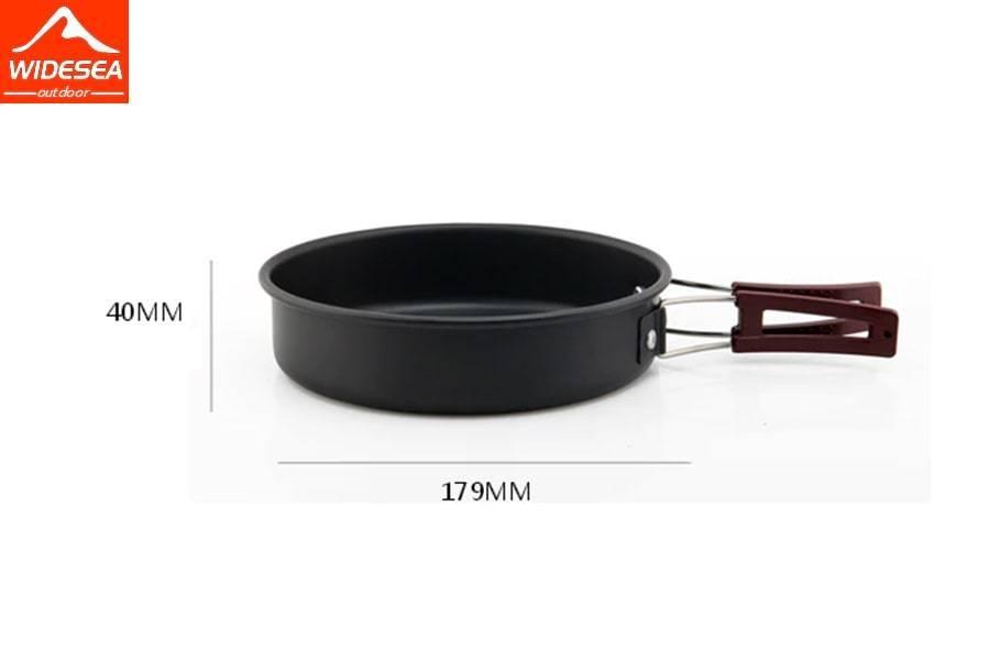 Походный набор туристической посуды