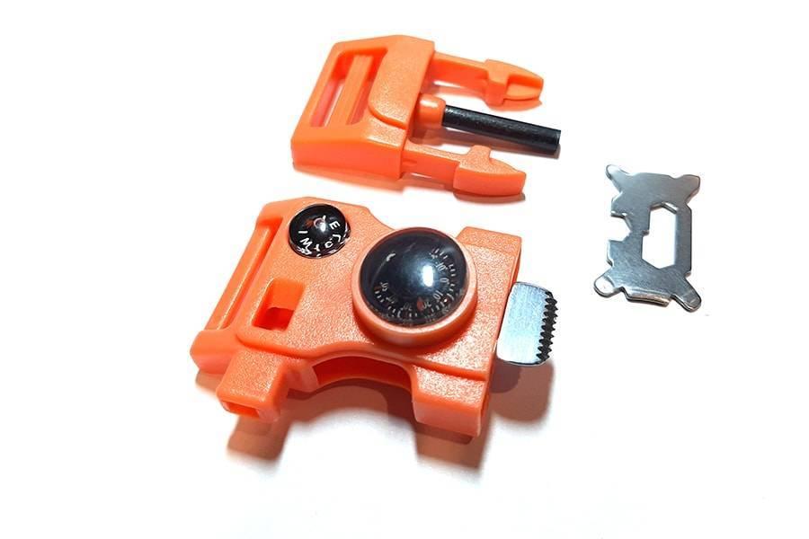 Пряжка тактического браслета Orange Safety