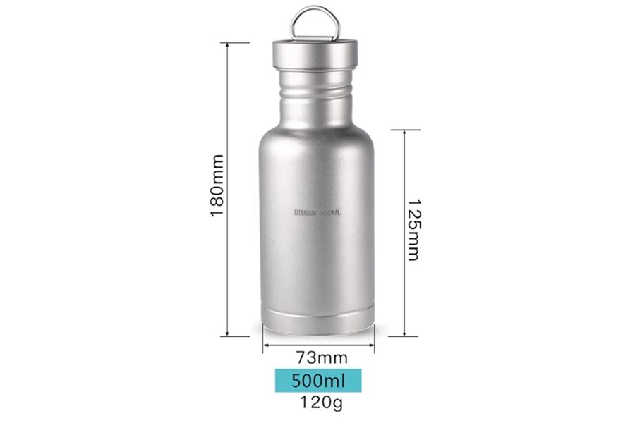 Бутылка из титана 500 мл