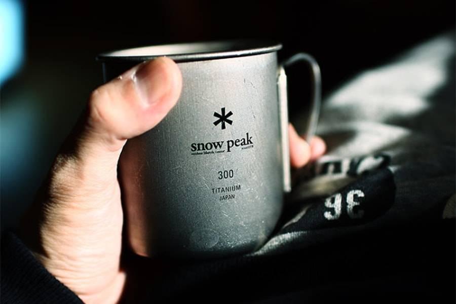 Титановая кружка Snow Peak 300 мл