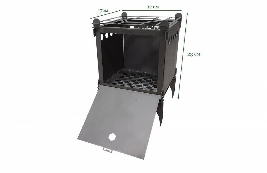 Титановая печь-щепочница Tinker