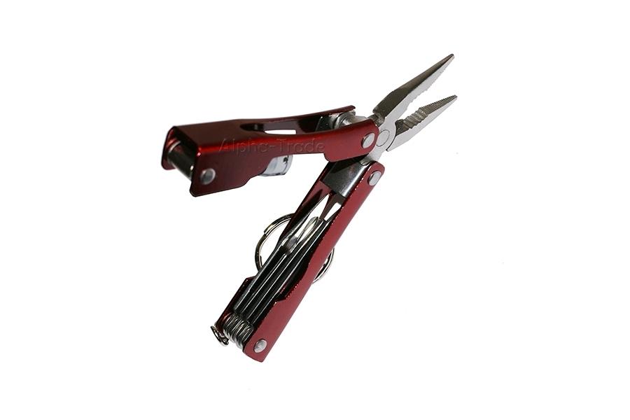 Складной многофункциональный инструмент RED FOX (7 в 1)
