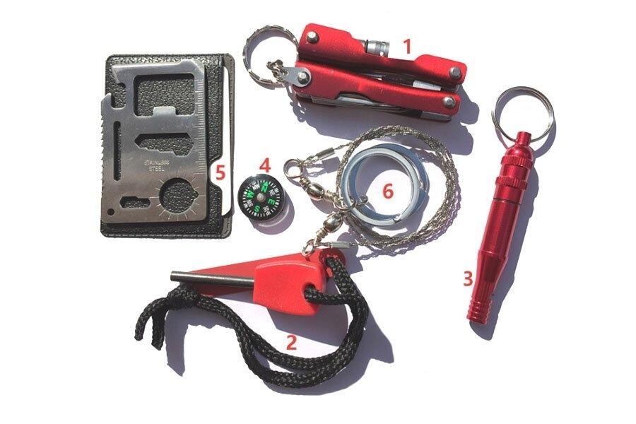 автоинструменты - набор туриста / охотника / рыбака lifeguard