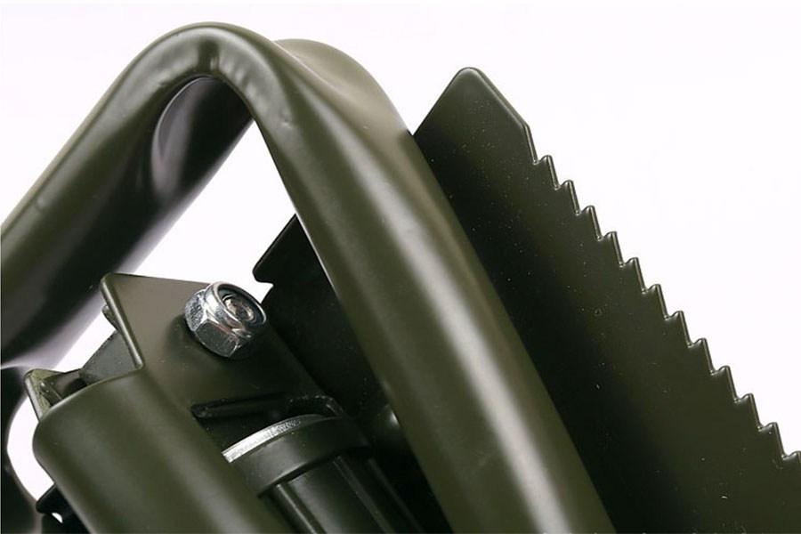 туристические лопаты - универсальная многофункциональная складная лопата аллигатор в чехле