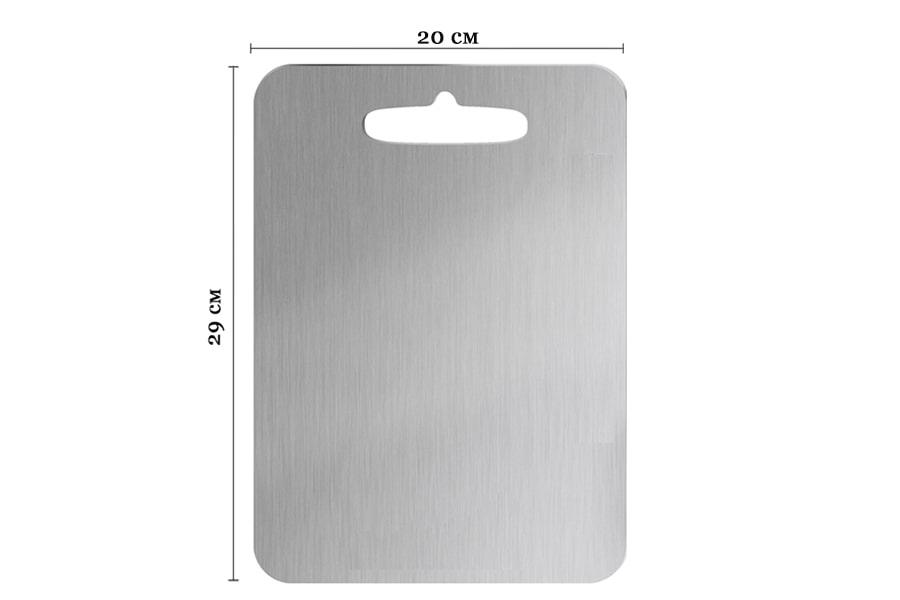 Титановая кухонная разделочная доска