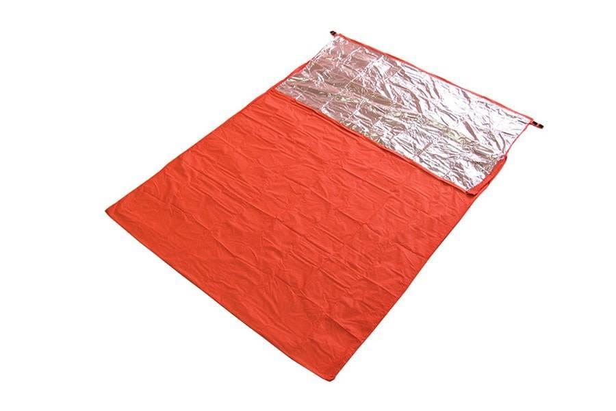 Спальный мешок Subito-Lixada двухместный сверхлегкий (конденсатник)