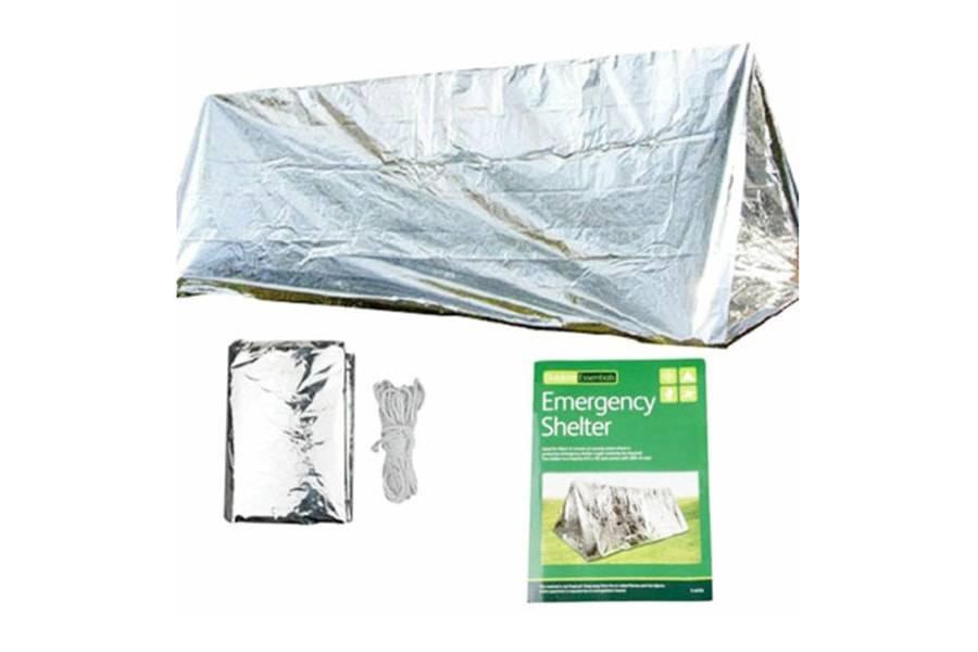 Универсальная аварийная компактная палатка (укрытие)