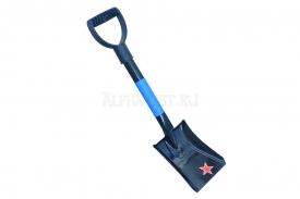 Лопата походная (автомобильная) Буран, с мет. черенком и V-ручкой