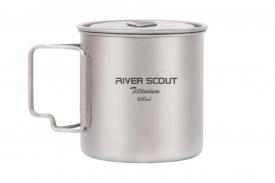Титановая кружка River Scout TM-07t 650 мл