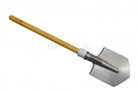 Титановая малая пехотная лопата MPL LH складная с алюминиевой втулкой