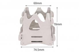 Печь-щепочница River Scout сверхкомпактная