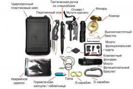 Набор туриста / автомобилиста River Scout A15 (15 в 1)