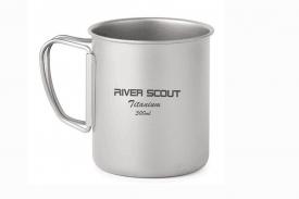 """Титановая сверхлегкая и прочная кружка """"River Scout"""" 300 мл без крышки"""