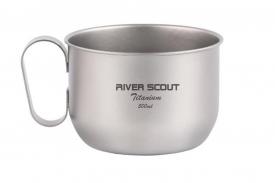 """Титановая сверхлегкая и прочная кружка """"River Scout"""" 500 мл"""