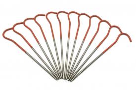 Колышки титановые для крепления палатки (ультралегкие) - 12 шт.