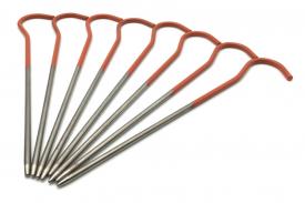 Колышки титановые для крепления палатки (ультралегкие)