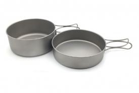 Набор титановой посуды из 2-х предметов