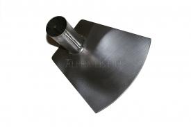 Титановая тяпка-мотыга 160х150 мм без черенка, серия Садовод