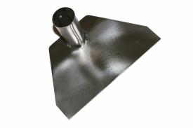 Титановая тяпка-мотыга 200х135 мм без черенка, серия Садовод