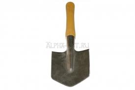 Титановая малая пехотная лопата без чехла, серия Стандарт