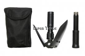 туристические лопаты - универсальная складная многофункциональная мини-лопата compact-2 (4 в 1)