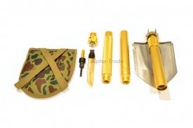 туристические лопаты - универсальная складная многофункциональная лопата golden dragon (8 в 1)