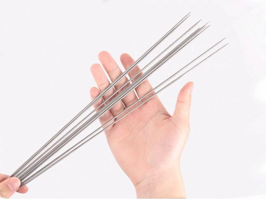 Ультралегкие шпажки (шампура) для гриля из титана 10 штук