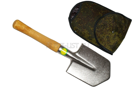 Titanium small infantry spade (in case)