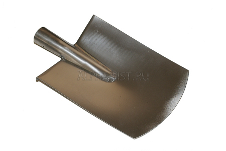 Titanium square-pointed welded shovel without handle (large size), series Gardener