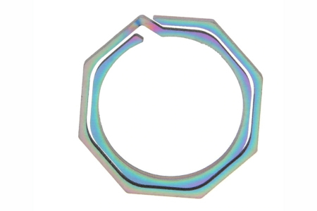 Титановое кольцо-брелок для ключей